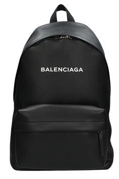 9af158c89b8 BALENCIAGA EVERIDAY BLACK LEATHER BACKPACK.  balenciaga  bags  leather   backpacks