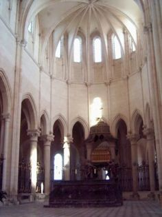 Pontigny Abbey - Becket was murdered here in 1170 Gothic Architecture, Notre Dame, Building, Travel, Art, Viajes, Buildings, Destinations, Traveling