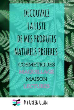 découvrez la liste de mes produits naturels préférés, en cosmétique, maquillage et pour la maison Anti Rides Yeux, I'm Pregnant, Health Fitness, Retro, Reading, Vintage, Parents, Voici, Slow