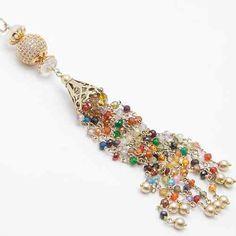 Tassel necklace Biżuteria Naszyjniki Nina Rossi Jewelry