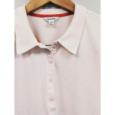 "Calvin Klein Polo Light Pink Polo Style CK Shirt. No Rips Or Stains. Excellent Condition. Size M. 22"" Long & 16"" Wide. Also I Follow All Posh Rules & No Trades. An Unless It Says SOLD, It's Still Available! Everything Comes Clean From A Smoke & Pet Free Home! Thank You! Don't Forget To Bundle & Happy Poshing! ☕️ Calvin Klein Tops Tees - Short Sleeve"