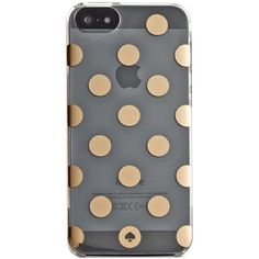 kate spade new york Le Pavillion Clear iPhone 6 Plus Case ($40) ❤ liked on Polyvore featuring accessories, tech accessories, phone cases, phone cover, phones и kate spade
