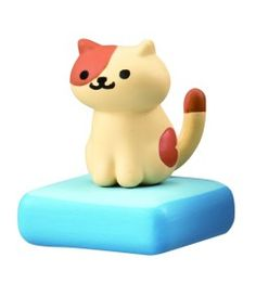 Get the rare cat figurines, plushies and cushions here on SUDDENLY CAT! Neko Atsume: Kitty Collector (Japanese: ねこあつめ) is a cat collecting game developed by Hit-Point. Kawaii Cat, Kawaii Anime, Neko Atsume Wallpaper, Cat Games For Kids, Cream Cat, Biscuit, Rare Cats, Cute Little Kittens, Japanese Cat