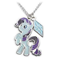 Rarity necklace! So pretty.... (via ThinkGeek), $12.99