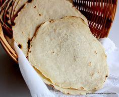 Gabriela, clavo y canela: Tortillas mexicanas