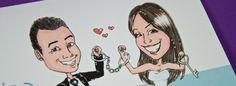 """Partecipazione di matrimonio """"Cindarella"""", una partecipazione di nozze unica, originale e personalizzata.  #partecipazione @matrimonio #wedding #invite #caricature #caricaturista"""