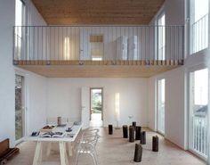 Best Modern Lake Houses Two Floor White Natural Interior