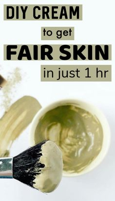 DIY cream that can give you visible fair skin in just 1 hour Best Diy Face Mask, Lighten Skin, Fair Skin, Skin Cream, Coconut Cream, Good Skin, Home Remedies, Canning, Fruit
