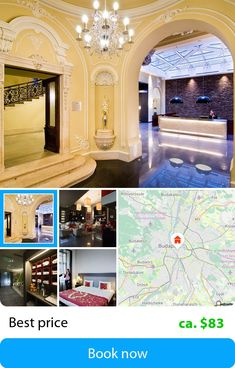 Palazzo Zichy (Budapest, Hungary) – Book this hotel at the cheapest price on sefibo.