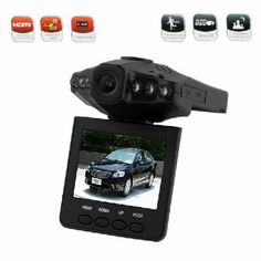 "2.5"" TFT LCD Vehicle Car Camera HD DVR Dashboard Recorder"