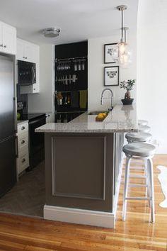 Azul Platino Kitchen Layout, Kitchen Colors, New Kitchen, Kitchen Decor, Kitchen Ideas, 1970s Kitchen, Small Condo Kitchen, Ranch Kitchen, Long Kitchen