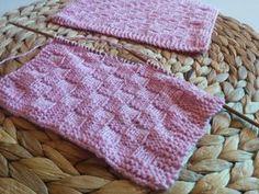 Helppo neulottu tiskirätti -ohje Textiles, Knitting, Diy, Accessories, Koti, Tricot, Bricolage, Cast On Knitting, Stricken