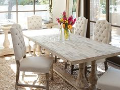 Whitewash Dining Room Table Enchanting White Wash Dining Room Table For White Washed Wood Dining Table & 15 Best Whitewash dining table images | Kitchen dining Lunch room ...