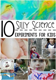 These 10 super silly science experiments for kids are cool and easy to do! We love how much fun these make learning!