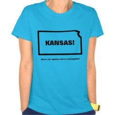 THE funny gift shirt for anyone from #KANSAS! #KS