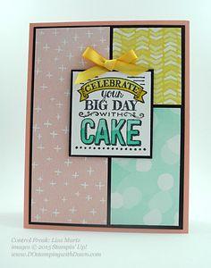 Stampin' Up! Sale a Bration swap cards shared by Dawn Olchefske, #dostamping #big day (Lisa Martz)