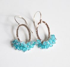 Aren't these gorgeous? Perfect summer earrings. I've gotta try to make these soon. #jewelry #summer jewelry #diy crafts