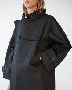 WATER RESISTANT COAT – AF Agger Water Resistant Coats, Bias Binding, Horse Hair, Black Metal, Corduroy, Raincoat, Zip, Sleeves, Cotton