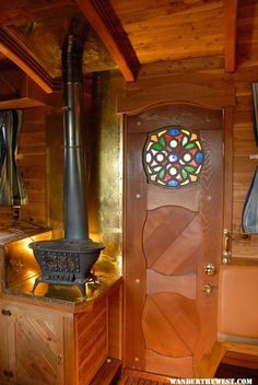 House of Seven Rivers,a remarkable handmade truck camper made from the finest of materials. (pinned by haw-creek.com)