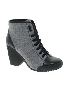 Cute and functional for icky weather! AUSTIN Ankle Boots by ASOS.