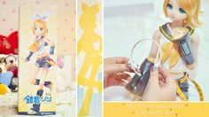 Dollfie Dream Sister [ Kagamine Rin ] Unboxing ~ ! ≧◡≦♥