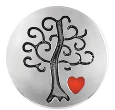 Petite Ginger Snaps Family Tree w/Heart Snap