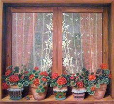 Artist, Günseli Kapucu Resimleri ©  Borrowed from Beth's Favourite Artworks, on Facebook