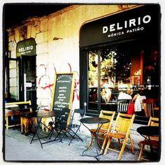Delirio by Monica Patiño, La Roma