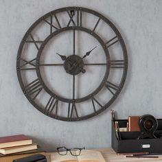 Reloj metálico Diám. 60 cm EDISON 49,99 + 6,9 €
