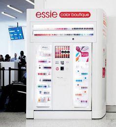 Essie vending machines? So in!
