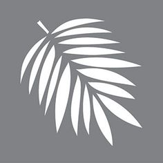 6 x 6 Tropical Leaf Stencil Laser-cut designs appropriate for indoor and outdoor projects. Alignment guides are provided on lettered and repeating pattern stencils to assist with accuracy during alignment. Painting Tools, Fabric Painting, Artist Painting, Leaf Stencil, Stencil Art, Stenciling, Stencil Patterns, Stencil Designs, Stencil Printing