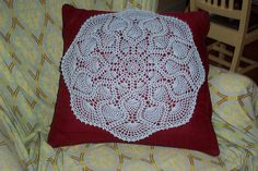 Ravelry: Graduated Pineapples Table Topper pattern by Priscilla Hewitt