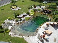 Natural swimming pool park :)