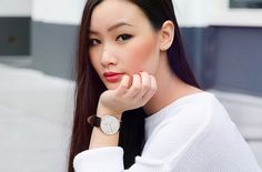 """""""I aim for versatile chic with a touch of uniqueness"""" - Written by the Dutch-based Levi Nguyen, TLNIQUE takes you on a personal journey through fashion, beauty and wanderlust. Daniel Wellington Watch, Blush Application, My Shopping List, Jewelry Watches, Autumn Fashion, Hair Makeup, Fashion Jewelry, Hair Beauty"""