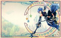 Kingdom Hearts HUGE Poster - Beautiful ( 34 inch x 22 inch ) FAST SHIPPING 025