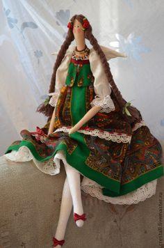 Куклы Тильды ручной работы. Ярмарка Мастеров - ручная работа Кукла Виринея(Цветущая). Handmade.