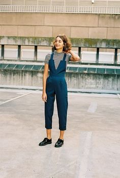 Layer Them With Tees - Easy Ways to Jazz Up Your Jumpsuits - Photos