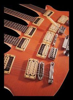 Five-Neck Guitar