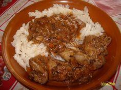 Ficat de pui cu paste - imagine 1 mare Paste, Sri Lankan Recipes, Pasta Carbonara, Pizza, Beef, Indian, Food, Meat, Essen