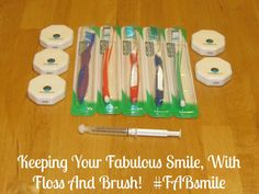 ►►► #Win a $107 Floss and Brush Gift Pack!  Prize includes the following: 1 Free Annual FAB Membership and  1 Free Annual FAB + White4Life Memberships.  Sponsored #FABsmile I'm a member of Mom It Forward.
