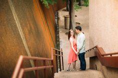 Dallas Wedding Photographer Robby and Amanda Engagement Portraits
