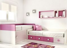 Camas en L | Dormitorios juveniles| Habitaciones infantiles y mueble juvenil Madrid