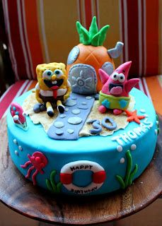 Die 15 Besten Bilder Von Spongebob Torte Birthday Cakes Sponge