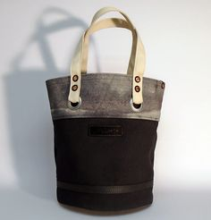 """Hand dyed cotton canvas tote bag - black with natural colored webbing strap ● Size: 11"""" x 14,2"""" - American ● 28 cm x 36 cm - European ● In case of order, please contact us with the following e-mail address: info@smithandscribeco.com #sailorbag #cottoncanvas #handmade #1920's #1930's #1940's #copperrivet #handdyedcanvas #premiumingredients Scribe, Black Tote Bag, Canvas Tote Bags, Cotton Canvas, American, Street, Natural, Leather, Handmade"""