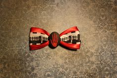 Skellington Death Hand  Red by RiotGearHairBows on Etsy, $8.00