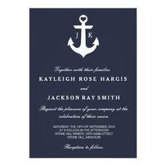 Nautical Wedding Invitations | Wedding                                                                                                                                                                                 More