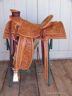 Jeff Hanson Saddles by a Buckaroo Saddlemaker.