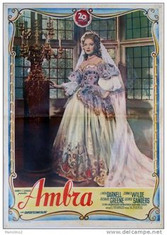 """Linda Darnell """"Forever Amber"""" (1947)"""