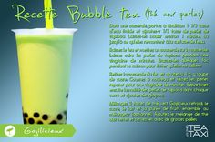 C'est Gojilicieux ;) Davids Tea, Thing 1, Bubble Tea, Glass Of Milk, Shot Glass, Recipies, Bubbles, Homemade, Random