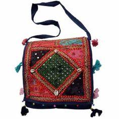 ##Designer #Rajasthani Multicolor Shoulder Bag-111   Shawl for women #2dayslook #new style fashion #Shawlstyle  www.2dayslook.com